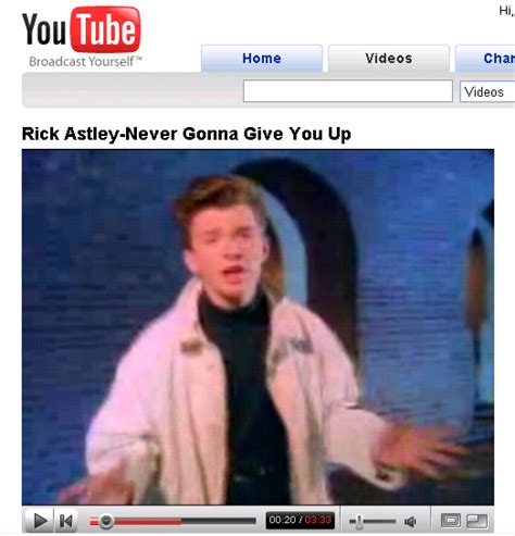 Rick Astley Makes Come Back With YouTube Prank   Will