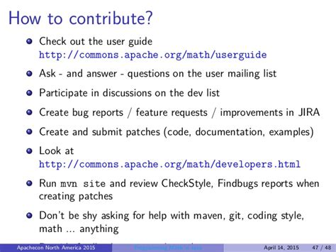 Programming Math in Java - Lessons from Apache Commons Math