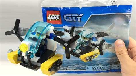 LEGO City Prison Island Helicopter polybag review! 30346