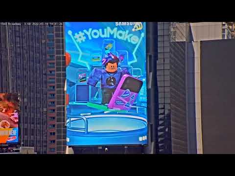 New Years Eve Ball Drop In Times Square 1998-99 (Extended