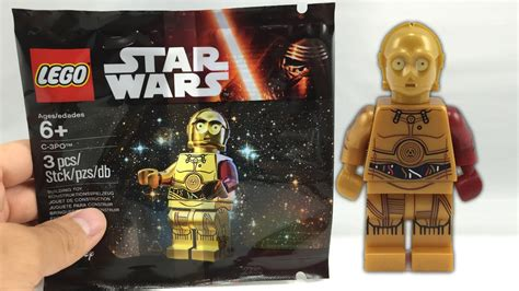 LEGO C-3PO Star Wars The Force Awakens polybag review