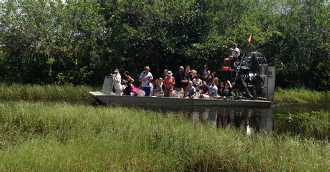From Miami: Everglades National Park with Airboat Ride