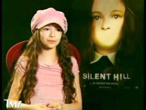 Silent Hill Interview with Jodelle Ferland - YouTube