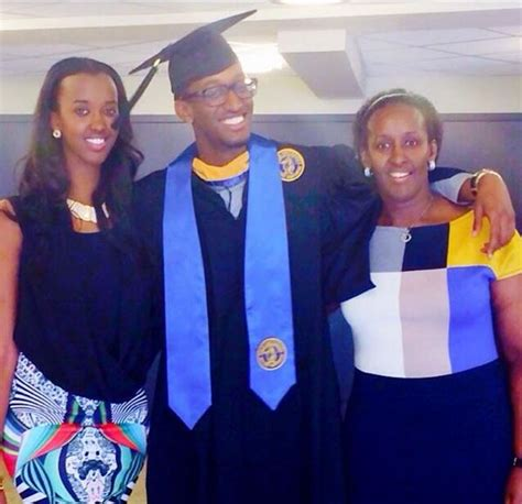 PHOTOS – President Kagame's Daughter is Very Tall and Very Hot