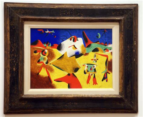 Art/Museums: Joan Miró at the Museum of Modern Art in New York