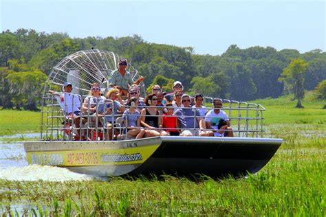 Wild Florida Airboat Ride and Monster Truck Combo