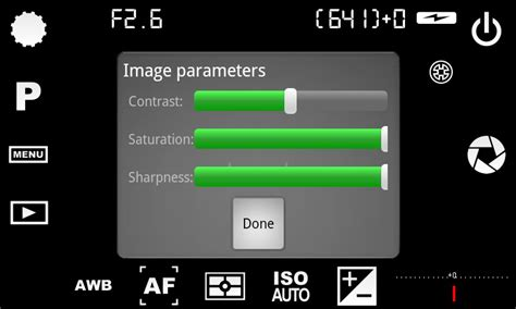 Android: Camera FV-5 - Pixinfo