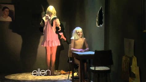 Maddie and Sia on Ellen - YouTube