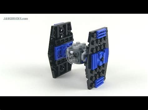 LEGO Star Wars 8028 Mini TIE-Fighter polybag set review
