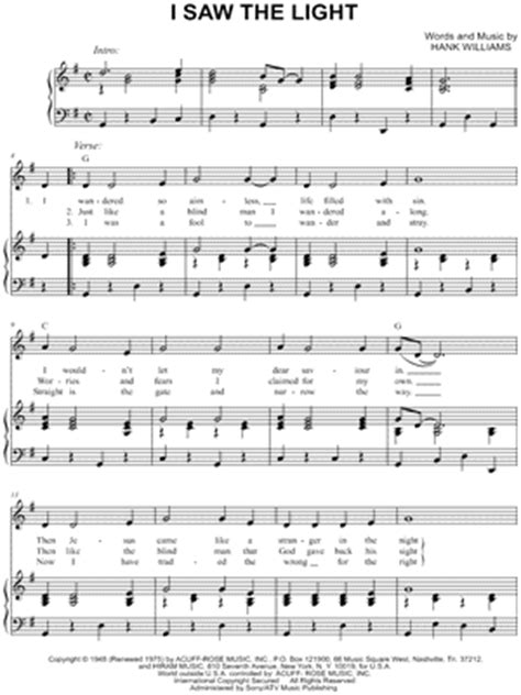 Hank Williams Sheet Music Downloads at Musicnotes