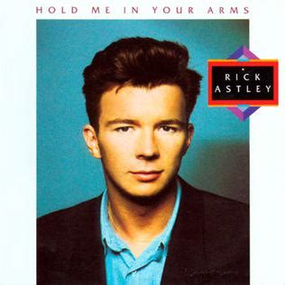 Hold Me in Your Arms (album) - Wikipedia