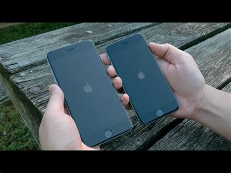 Apple iPhone 6 vs iPhone 6 Plus Dual Unboxing and