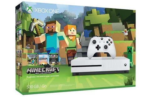 Xbox One S Minecraft Favorites bundle now available for $300